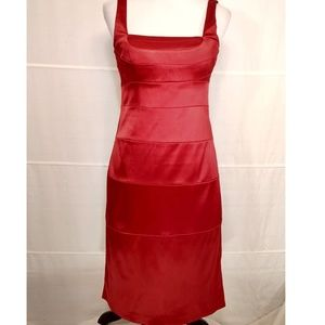 SIGNATURE By Sangria Red Dress Size 8